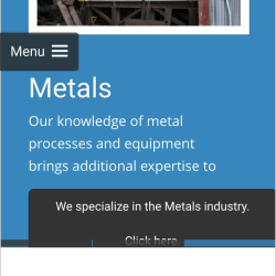 Mobile Friendly Website Offers Responsive Results for Easier Reading